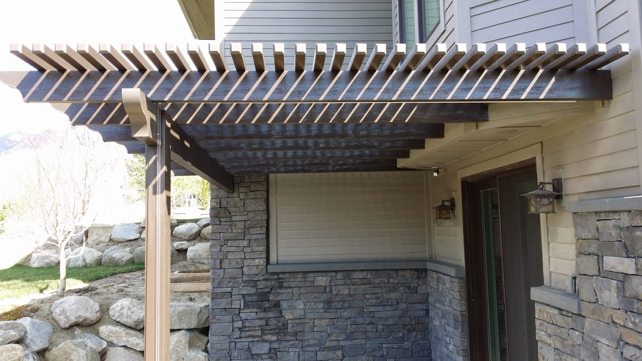 Wooden Awning