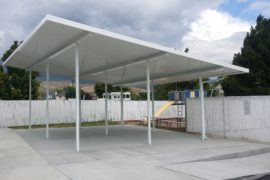 Salt Lake Utah Home Improvement Free Standing Awning
