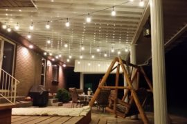 Salt Lake Utah Home Improvement Patio Lights